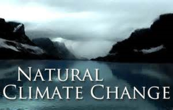 Natural climate change