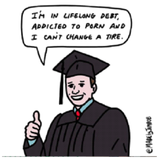 college grad by jimbob