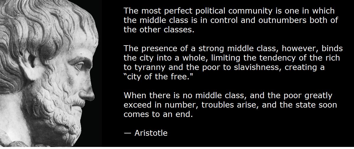 Aristotle Middle Class
