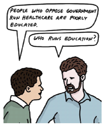 Who runs education