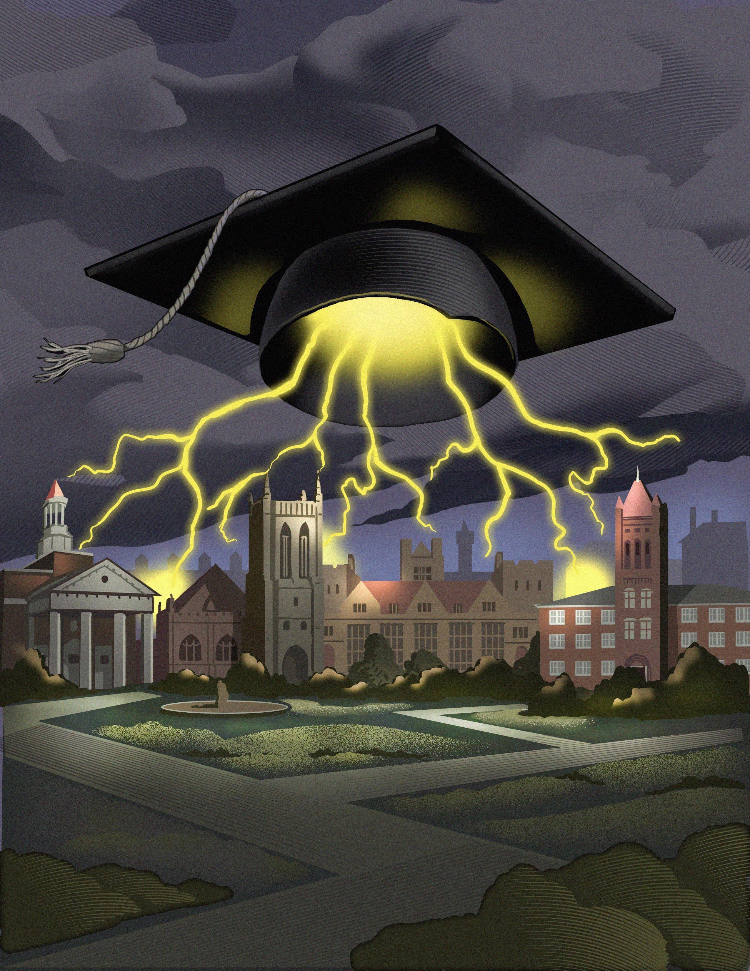 university lightening